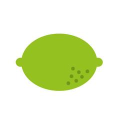 Lemon fruit isolated icon vector