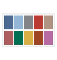 Palette Colors Fall 2016 without Name vector