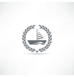 sailfish icon vector image