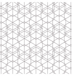 White and black background geometric pattern vector