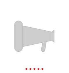 loud speaker or megaphone it is icon vector image vector image