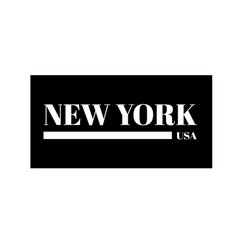 new york city ny t-shirt print design and vector image
