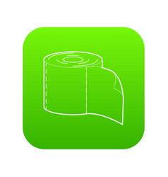 bumf icon green vector image