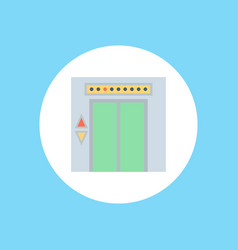 elevator icon sign symbol vector image