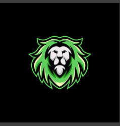 lion logo design template ready to use vector image