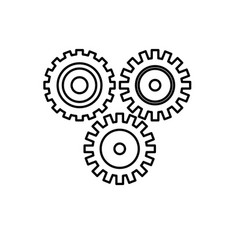 Line industry gears to process engineering vector