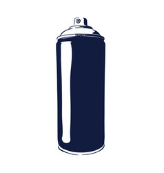 paint spray can vector image