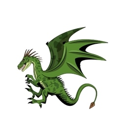 Dragon animal icon vector