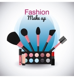 Fashion make-up vector