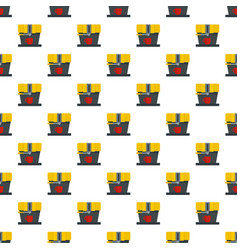 modern coffee machine pattern seamless vector image