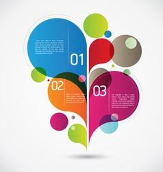 Modern Flourish Background vector image