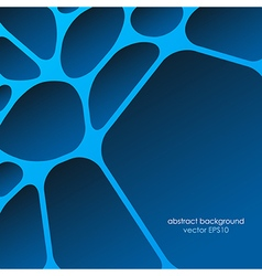 Network abstract background smooth lines vector