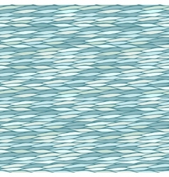 Seamless pattern with abstract geometric waves vector image