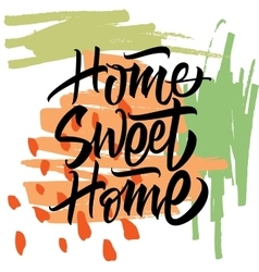Sweet Home Calligraphy vector