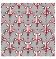sword pattern vector image