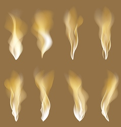 Abstract fire flames background Colorful eps10 vector image
