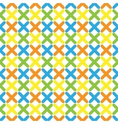 Color pattern 04 vector image