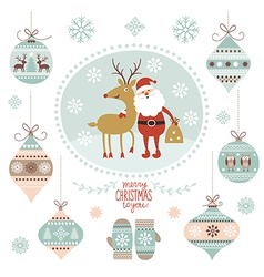 Christmas graphic elements vector