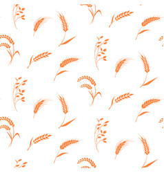 Hand drawn bakery background vector