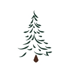 Pine Tree icon Nature and plant design vector