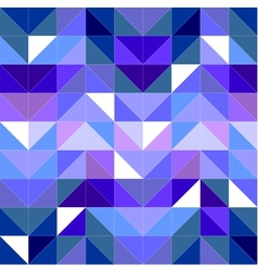 Seamless blue pattern or tile background vector image
