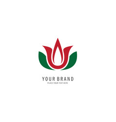 spa symbol logo vector image