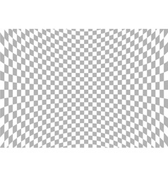 Spherical Checkered Background vector