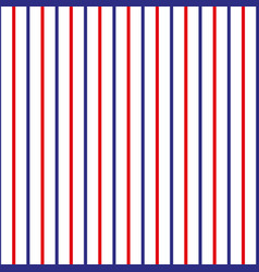 stripe seamless pattern with redblue and white vector image