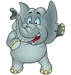Talking Elephant vector