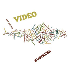 ten different ways to use video for your business vector image