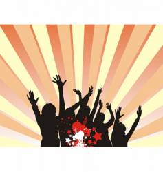 audience vector image vector image