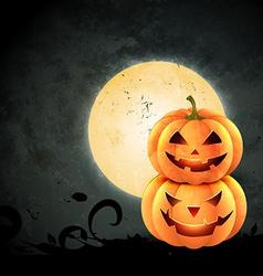 creepy halloween design vector image vector image