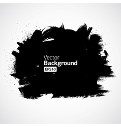 Grunge Ink Draw Background vector image vector image