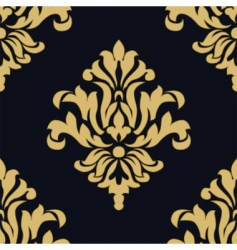 crest pattern vector image vector image