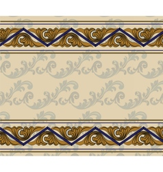 Ethnic abstract ornament vector image