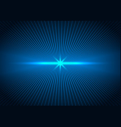 abstract technology futuristic concept lines vector image