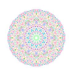 Colorful flower pattern mandala - geometrical vector