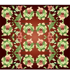 Fifteen series designed from the ottoman pattern vector