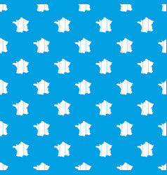 france pattern seamless blue vector image
