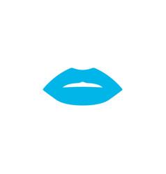 lips icon colored symbol premium quality isolated vector image
