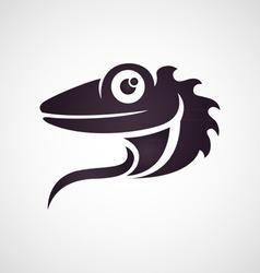 Lizard logo vector