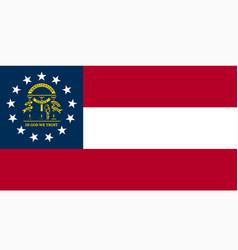 National flag georgia vector