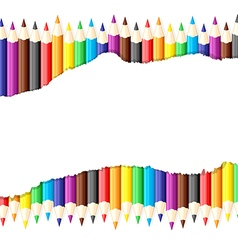 pencil sheet vector image