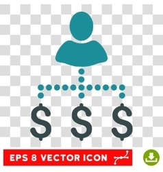Person Payments Icon vector