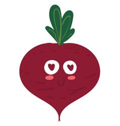 Romantic beet or color vector