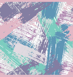 seamless abstract background pattern with paint vector image