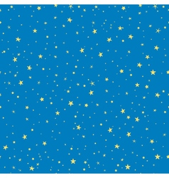 Starry seamless pattern for christmas holidays vector