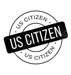 Us citizen rubber stamp vector