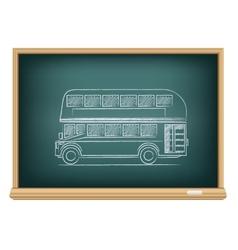 board English bus vector image vector image