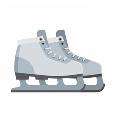 Ice Skating Shoes vector image